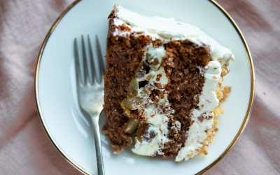 Gluten free walnut cake