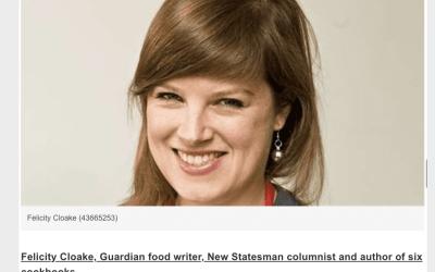 Felicity Cloake, Guardian food writer, top cookbooks 2020