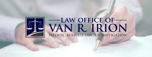 Knoxville patent attorney, Law Office, Van Irion, Intellectual property lawyer, business lawyer, legal services, contracts, formation, civil, representation