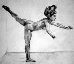 Studie, Zeichnung B8, A4