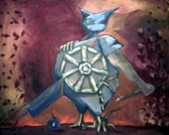 Zuend, Öl, 80 x 100, 2011