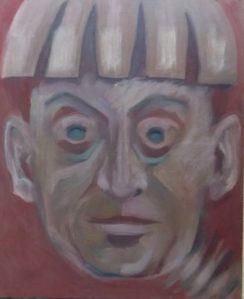 Sieh, Öl, 60 x 50, 2012