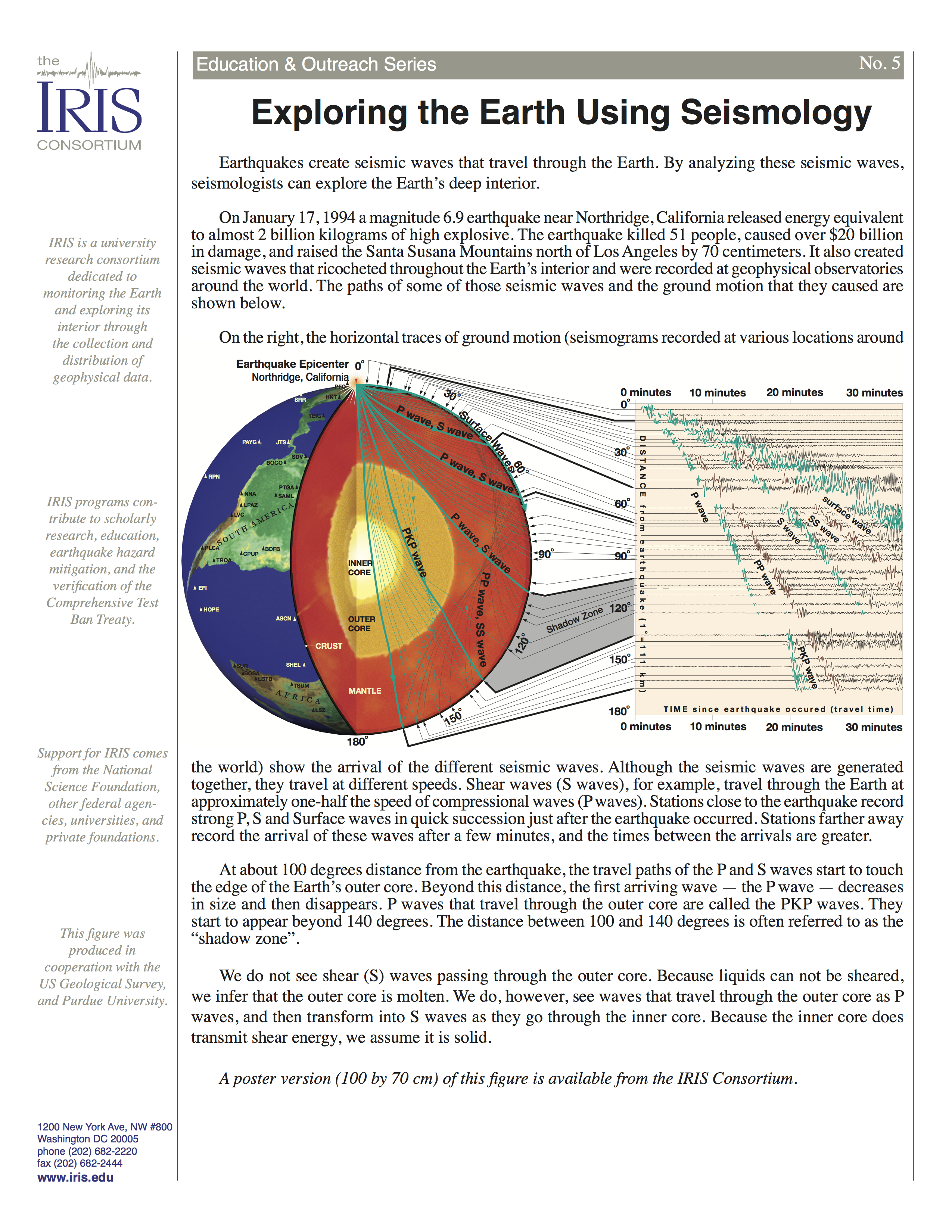earth layers diagram worksheet toyota alternator wiring exploring the using seismology incorporated