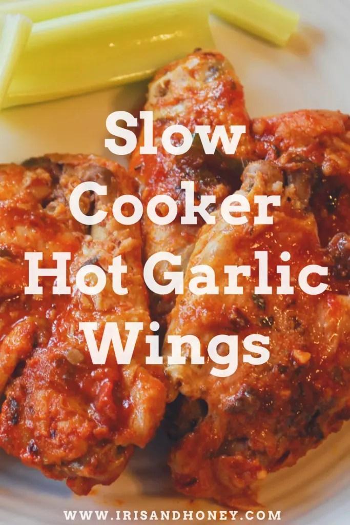 slow cooker hot garlic wings