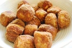 Cinnamon Soft Pretzel Bites