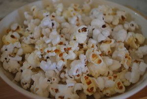 Easy Stove Top Popcorn