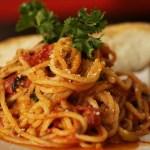 Spaghetti quattro stagioni