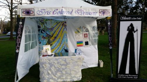 Personal Appearances : Iris Colored Dreams booth