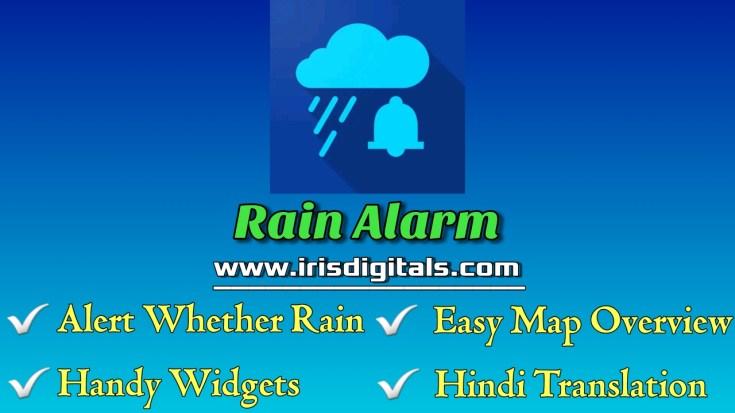 Downlaod Rain Alarm and Rain Radar