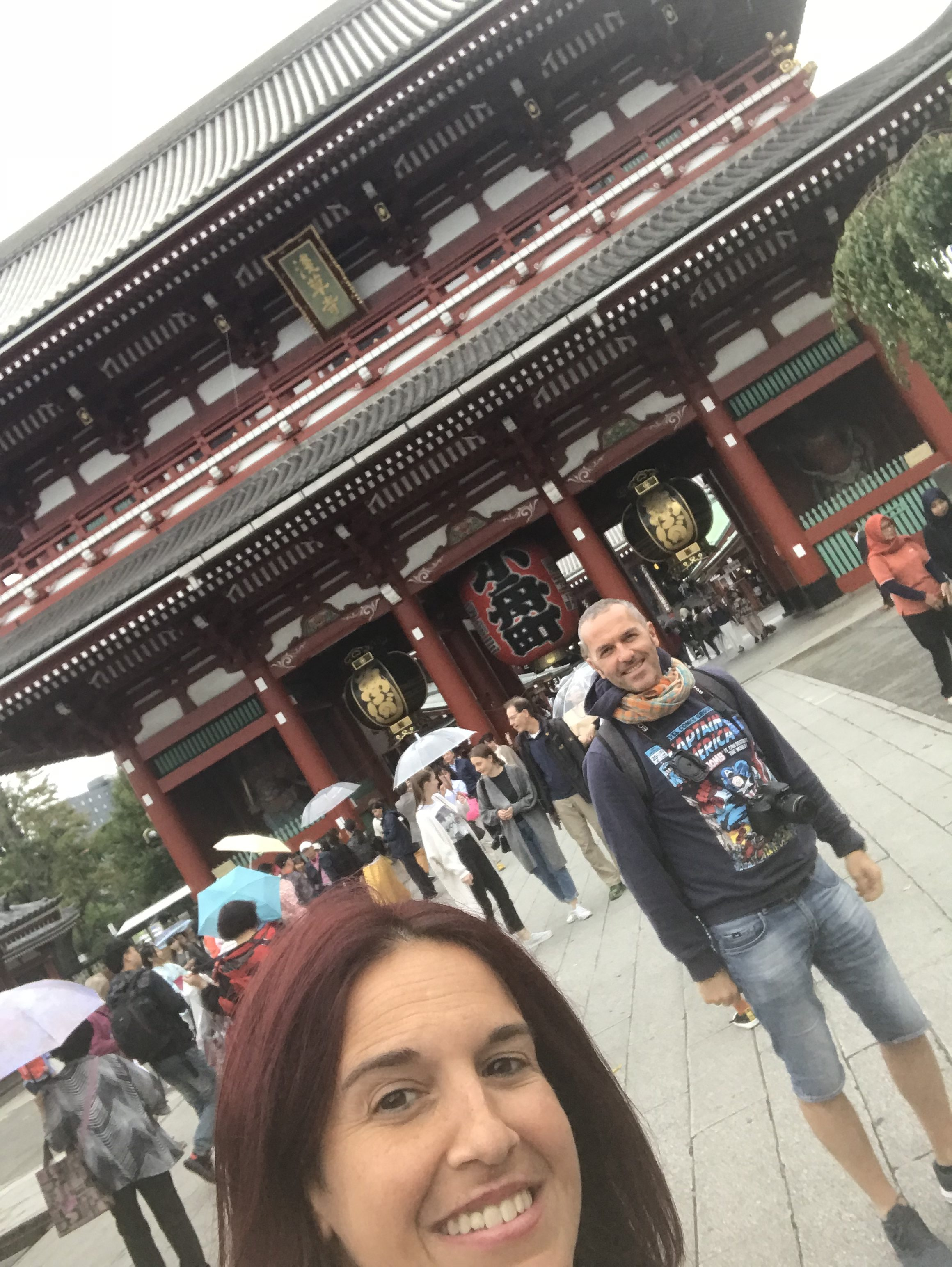 Selfie a Tokyo