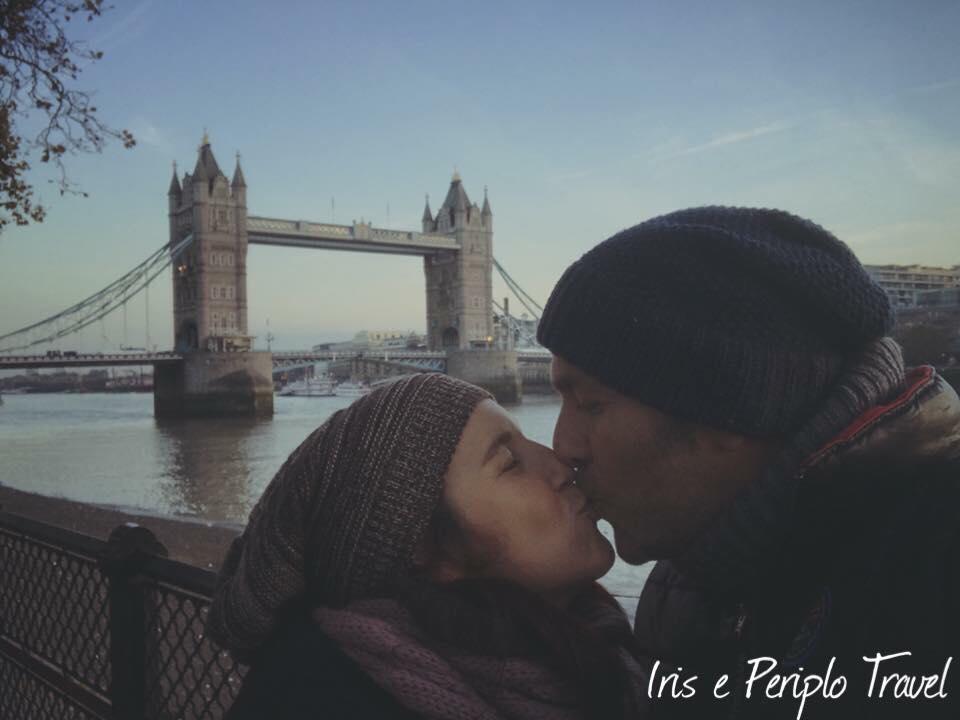 Bacio a Londra