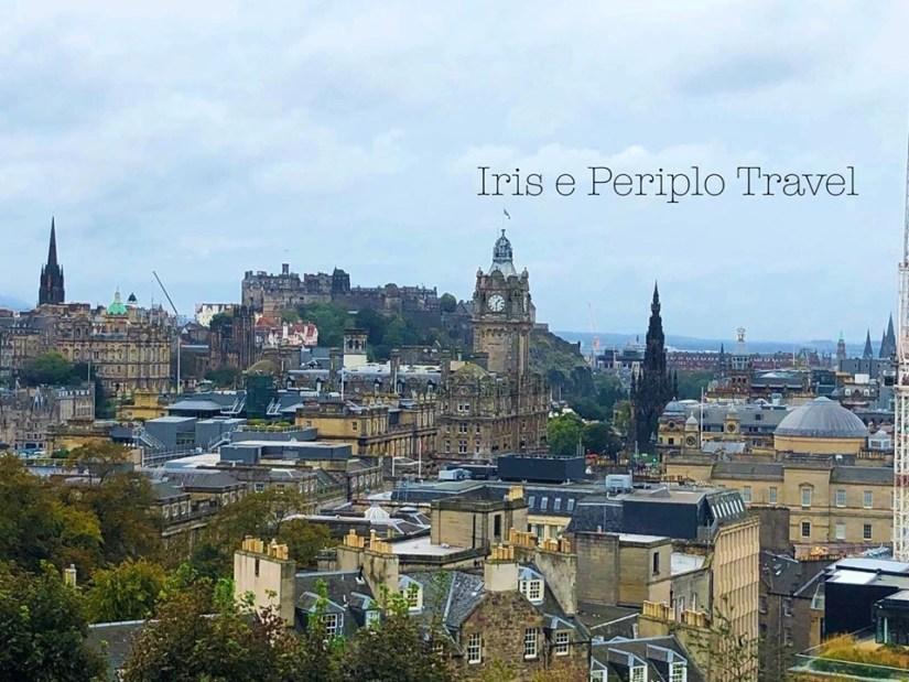 vista panormanica di edimburgo 4 giorni ad Edimburgo