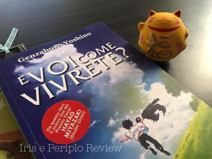 copertina del romanzo e voi come vivrete?