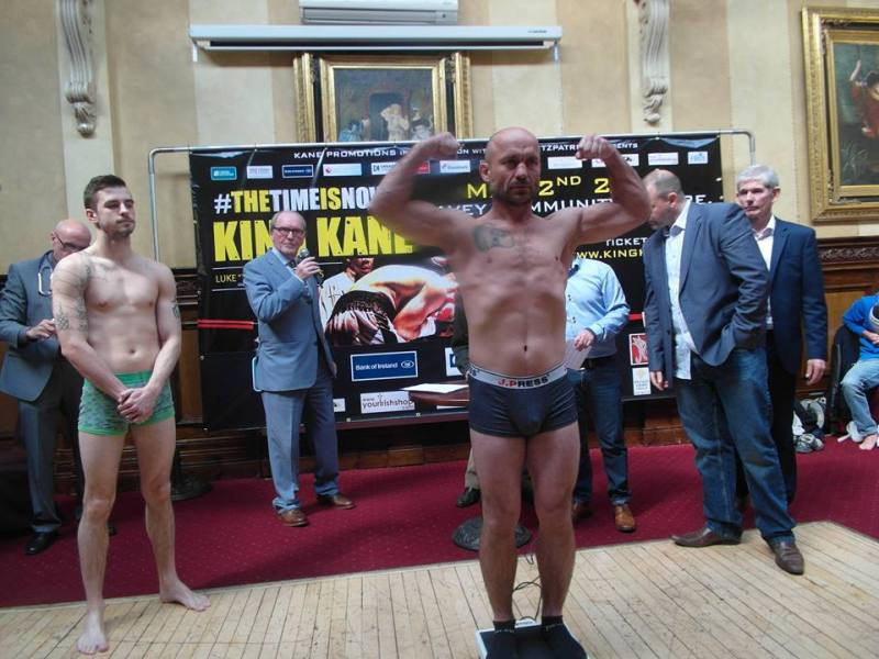 o'kane weigh in 11
