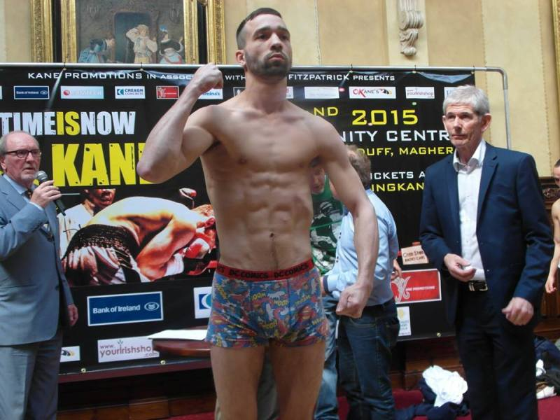 o'kane weigh in 12