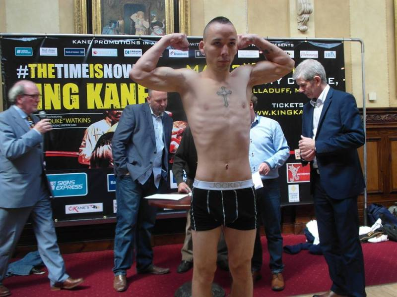 o'kane weigh in 13
