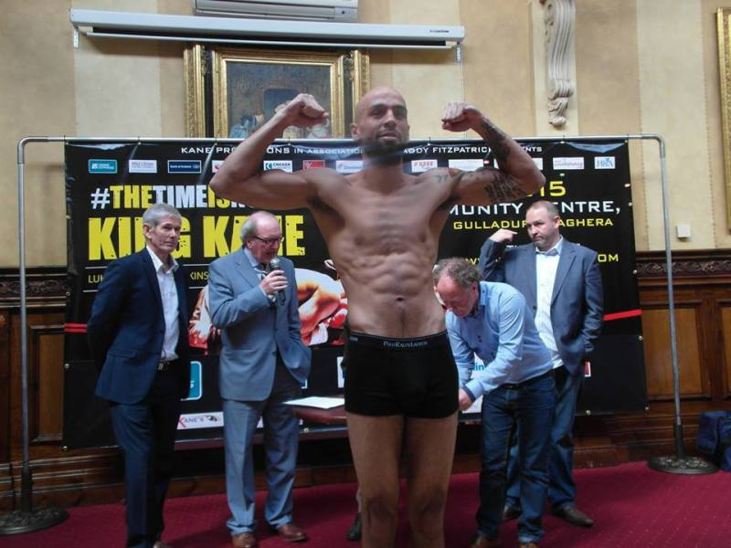o'kane weigh in 6