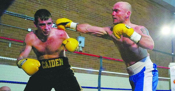 McShane during his firs defeat and last fight over three ago.