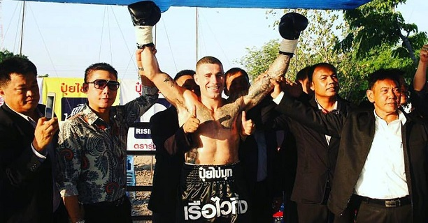 Hutchinson knows whats it's like to fight in Thailand