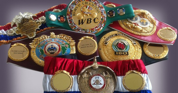 The Truth About Titles - Understanding Boxing Belt Madness -