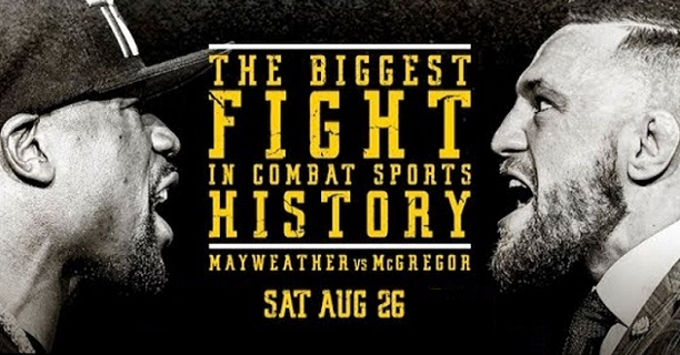 Mayweather v McGregor: Fight Week TV Schedule -