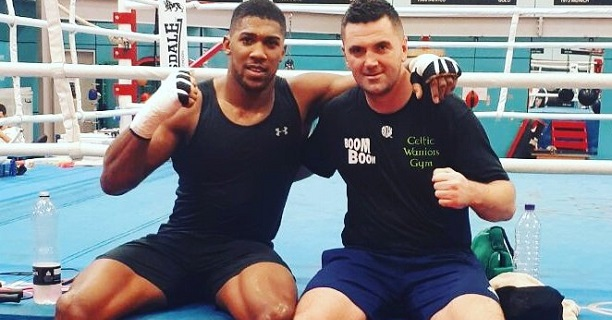 Joshua hopes to fight in Dublin one day