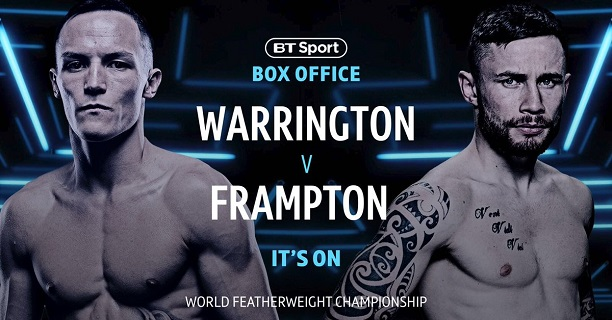 Image result for Josh Warrington vs Carl Frampton