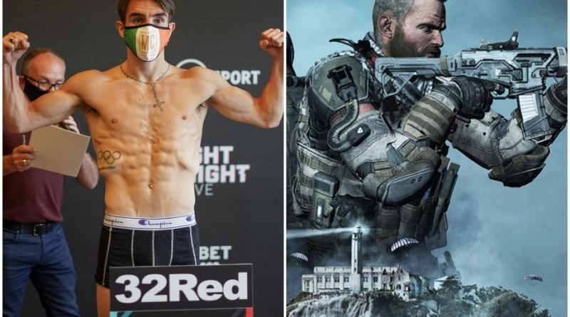Call of Duty before fight duty for Michael Conlan