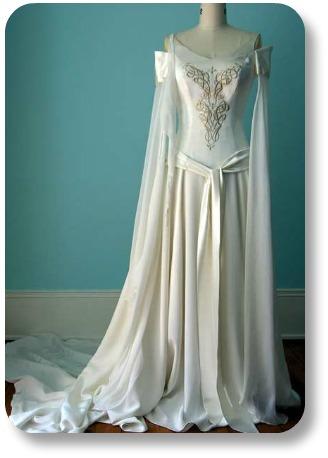 Flowing Wedding Dresses