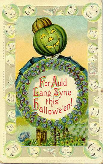 For Auld Lang Syne at Halloween