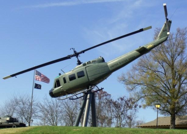 Veteran's Park Helicopter