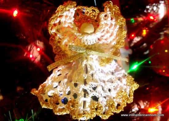 Christmas Crochet Angel
