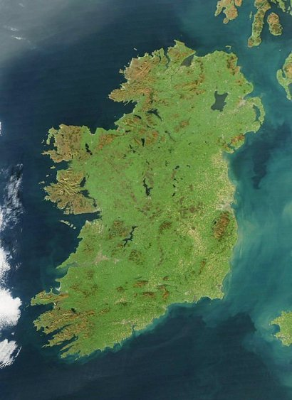 http://commons.wikimedia.org/wiki/File:Ireland_%28MODIS%29.jpg