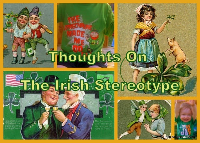 Irish Stereotype Collage