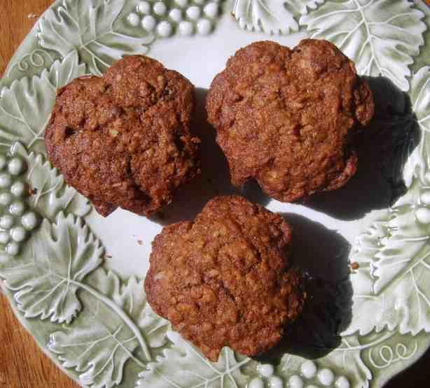 Shamrock Trio of Applesauce Muffins