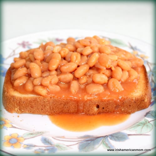 beans on toast – an easy lunchtime staple for irish moms | irish