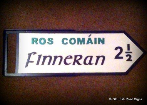 Irish signpost as a gift