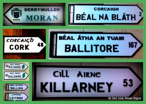 Old Irish Signposts