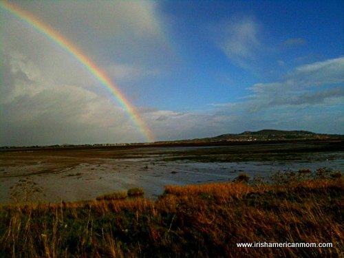 Irish Rainbow - Picture of Darragh Cottages, Mitchelstown ...