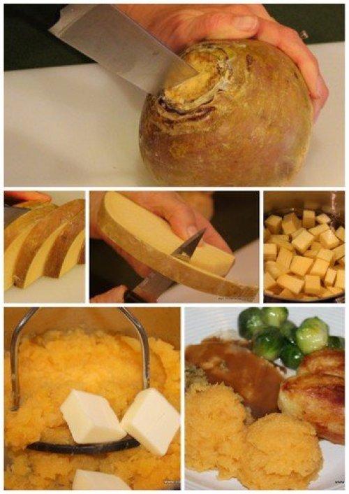 how to peel and cut a rutabaga