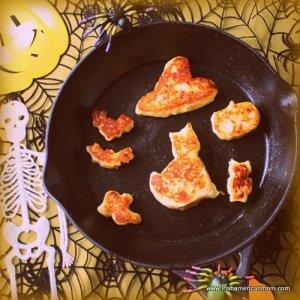 Cheesy Irish Potato Cakes For Halloween