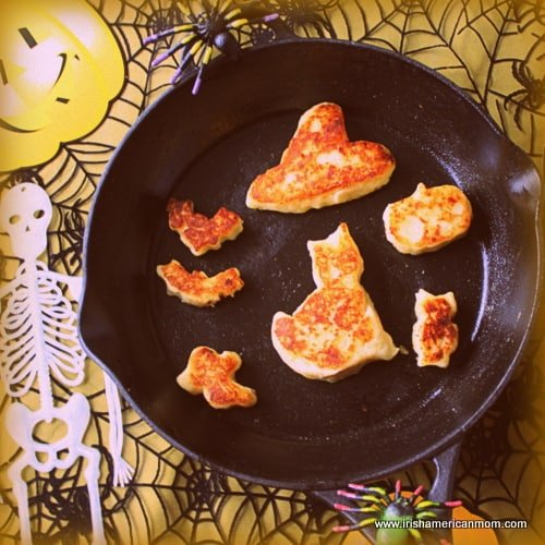 Cheesy Irish Potato Cakes for Halloween