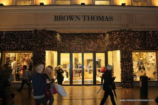 Brown Thomas, Grafton Street, Dublin, Christmas Lights