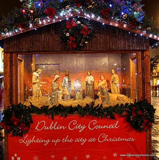 Christmas Crib O'Connell Street, 2014