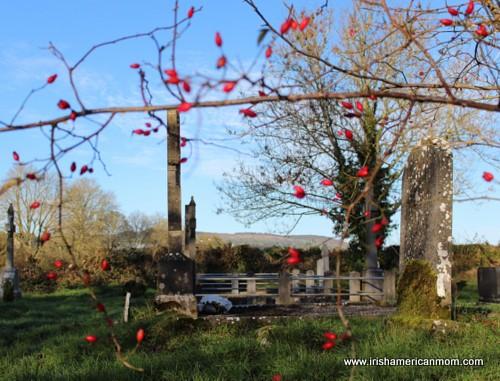 Irish graveside
