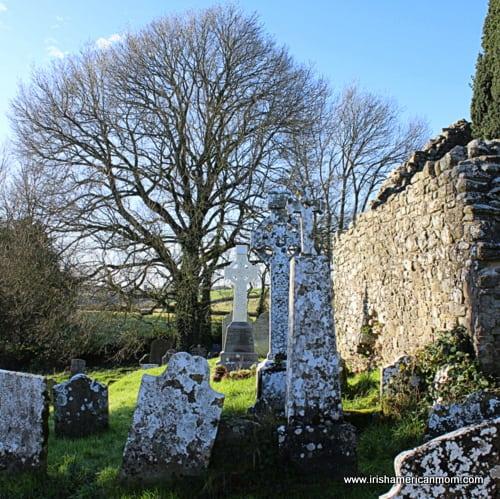Irish graveyard - Leaba Molloga, Kildorrery, Co. Cork