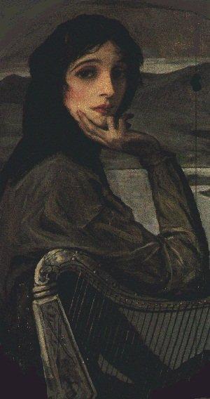 Hazel Lavery - image associated with old Irish pound note