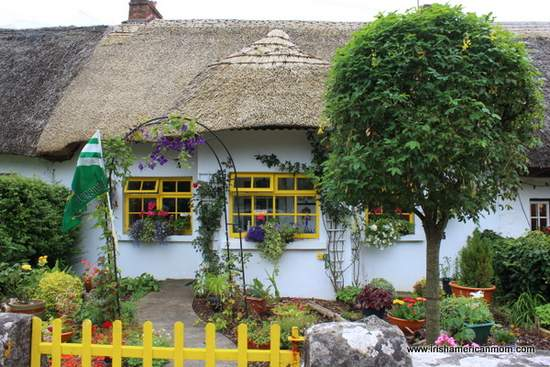 Thatched Cottage in Adare, County Limerick