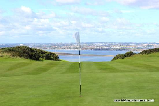 Dublin Bay from Howth golf course