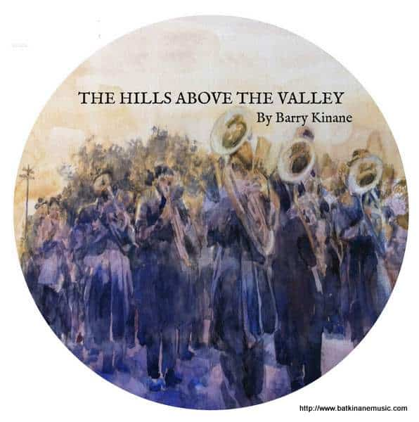 Cover Art for The Hills Above the Valley by Barry Kinane